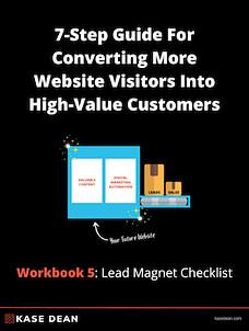 Converting Website Visitors Workbook 5