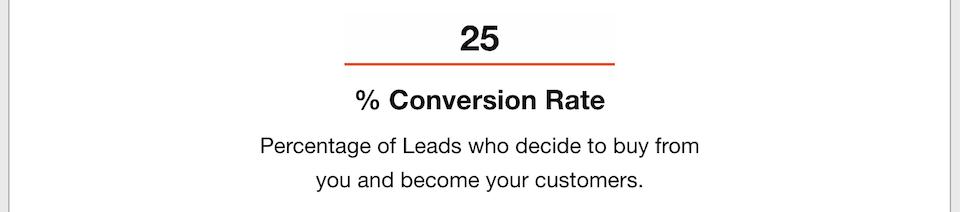 Business Goals - Conversions