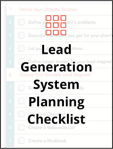 Lead gen checklist thumb
