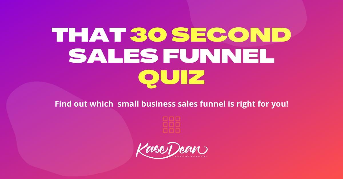 Sales Funnel Quiz Social Image