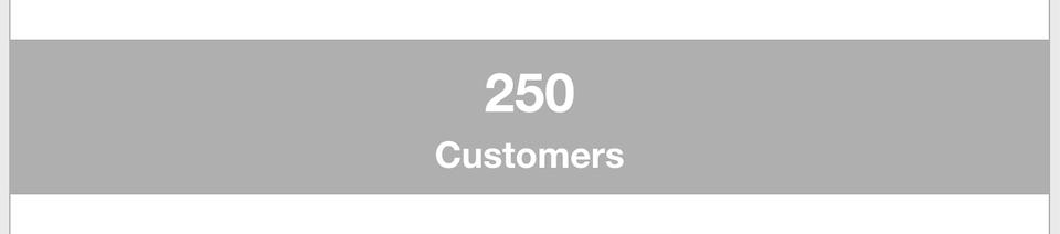 Business Goals - Customers