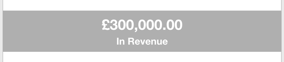 Business Goals - Revenue