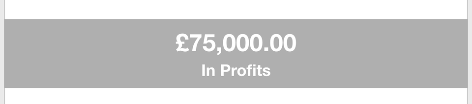 Business Goals - Profits
